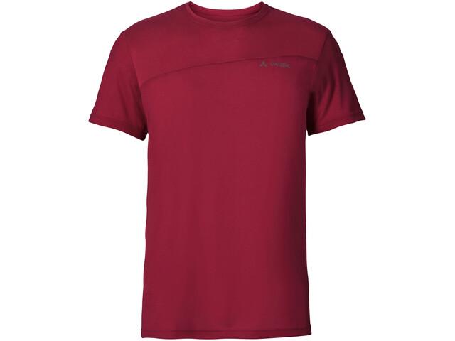 VAUDE Sveit T-shirt Herre dark indian red